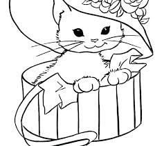 Cat Coloring Pages Free Printable Coloring Pages Of Cats Color Pages
