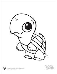 Cartoon Sea Turtle Coloring Pages At Getdrawingscom Free For