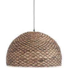 Hanglamp Rond Rotan La Boutique Blanche