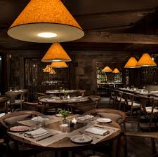 Interior Design: Astonishing Country Restaurant Decorating Ideas With  Rounded And Cushioned Wooden Dining Chair Featuring