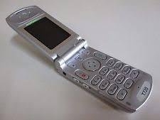 original motorola flip phones. motorola flip mobile phone - silver model t720 made in singapore 2002 original phones