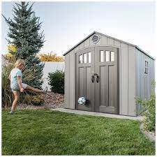 costco lifetime storage shed page 1