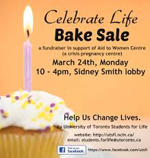 bake in support of aid to women university of toronto bake