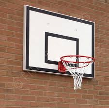 wall mounted basketball net goals sure shot 534 pro hoops