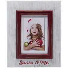 whole santa and me picture frames for