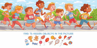 Print these worksheets today and start having fun! Hidden Object Puzzle Prime
