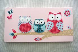 nice looking diy owl canvas decorative picture for baby room decorating idea on diy little girl wall art with nice looking diy owl canvas decorative picture for baby room