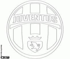 Kleurplaat Juventus Badge Kleurplaten