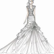Fashion Design Sketches Of Indian Wedding Dresses Postparc