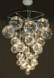 chandelier astounding bubble light chandelier marvellous bubble with regard to new house glass bubble light chandelier prepare