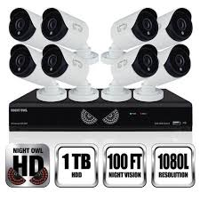 b 10lhda 881 1080 8 channel dvr hd security systems 1080 lite hda series dvr 1080p wired cameras