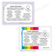 Dyspraxia Card