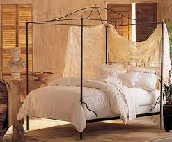 Cairo Canopy Bed Wbell Top  W Or Wo Finial Options  Charles P Canopy Iron Bed