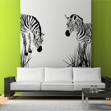 sleek modern furniture. Living Room Decoration Ideas Delightful Zebra Wall Art Stencil On Lime Green Also Nice And Sleek Modern Sofa Charming Furniture
