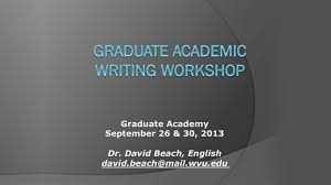 academic writer needed notes on academic writing student guide to graduate academic writing