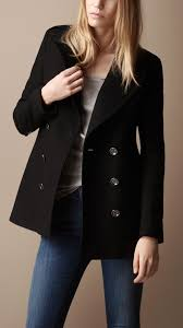 burberry classic wool pea coat 38399151 001 iluxdb com