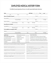 Medical History Form Template Family Health Templatemonster Refund ...