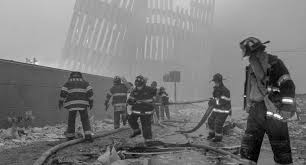 Image result for new york twin tower memorial with donald trump