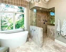 shower walls shower with half wall half wall shower ideas stupefy walk in bathrooms about shower walls