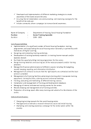 Covering Letter Cv For Learning Development Specialist Gallery One