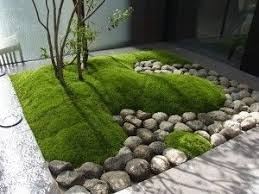Round rock gardens Small Backyard Modern Japanesestyle Garden Mound Of Moss And Round Rocks moderngardens japanesegardening Recognizealeadercom Modern Japanesestyle Garden Mound Of Moss And Round Rocks