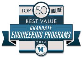 Top 50 Best Value Online Graduate Engineering Programs   Value Colleges
