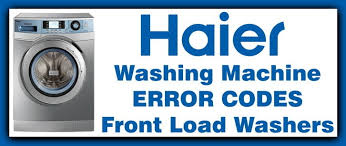haier encore super capacity washer. haier washer error codes encore super capacity