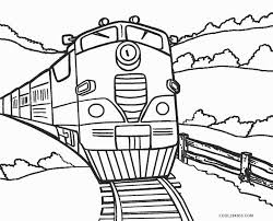 These train coloring pages to print will surely make things easier for both of you. Free Printable Train Coloring Pages For Kids