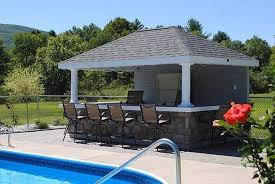 Backyard Designs Pool Outdoor Kitchen Thorplc House Bar Plans With