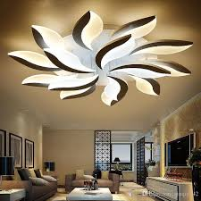 new design acrylic modern led ceiling lights for living study room bedroom lampe plafond avize indoor ceiling lamp indoor lighting kids room light led