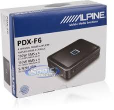 alpine pdx f6 4 channel power density digital car amplifier product alpine pdx f6