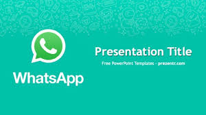 Free Powerpoint Templates Ppt Free Whatsapp Powerpoint Template Prezentr Ppt Templates