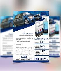 Free Car Wash Flyers Designs Car Wash Flyer On Wacom Gallery