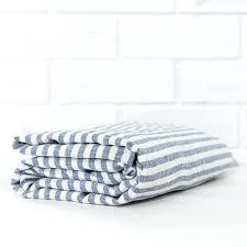 striped linen duvet cover blue set nz white stripe flat sheet a striped linen duvet cover