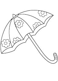Match the pictures of gumboots and umbrellas to their shadows. Umbrella Coloring Pages Best Coloring Pages For Kids Umbrella Coloring Page Coloring Pages Umbrella