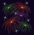 Image result for firework night clip art