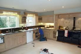 old kitchen furniture. Painting A 26yr Old Limed Oak Smallbone Kitchen Derbyshire Furniture N