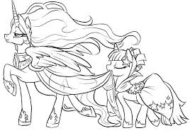 My Little Pony Coloring Pages Bestofcoloringcom