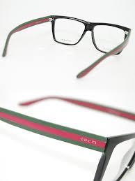 glasses frames gucci black green x red wellington gucci eyeglasses glasses guc gg