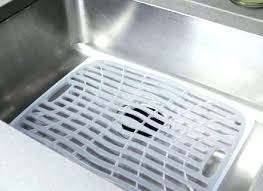 Captivating Sink Protectors Kitchen Sink Mats With Drain Hole And Kitchen Sink  Protectors Part Kitchen Sink Protectors