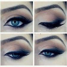 smokey eye makeup tutorial for blue eyes beautiful makeup eye tutorials you