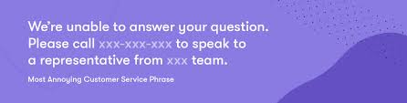 10 customer service phrases based on