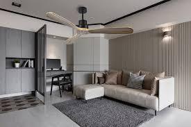 east fan 52 inch black timber ceiling