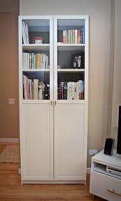 glass door bookcase white roselawnlutheran
