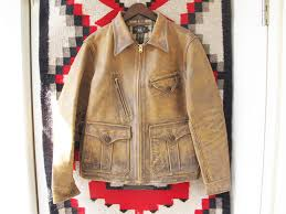 rrl newsboy leatherette jacket