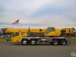 Grove 165 Ton Crane Load Chart Grove Tms800e 80 Ton Truck Crane Full Power Boom System