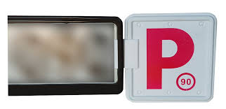 2 X Pink Plate Clips With 2 X Red P Plates Free Shipping Nsw Only
