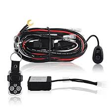 cheap hella hazard switch wiring diagram hella hazard switch get quotations · mictuning led light bar wiring harness 40amp relay on off strobe remote control switch