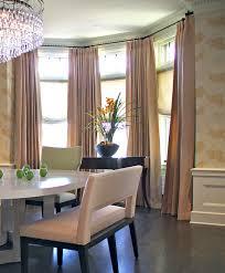 astonishing five sided bay window curtain pole and curtains for intended for bow window curtain rod