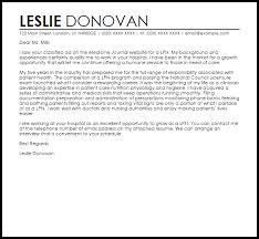 Resume Cover Letter For Lpn Application Letter For Practical Nurse Cover Lpn Examples